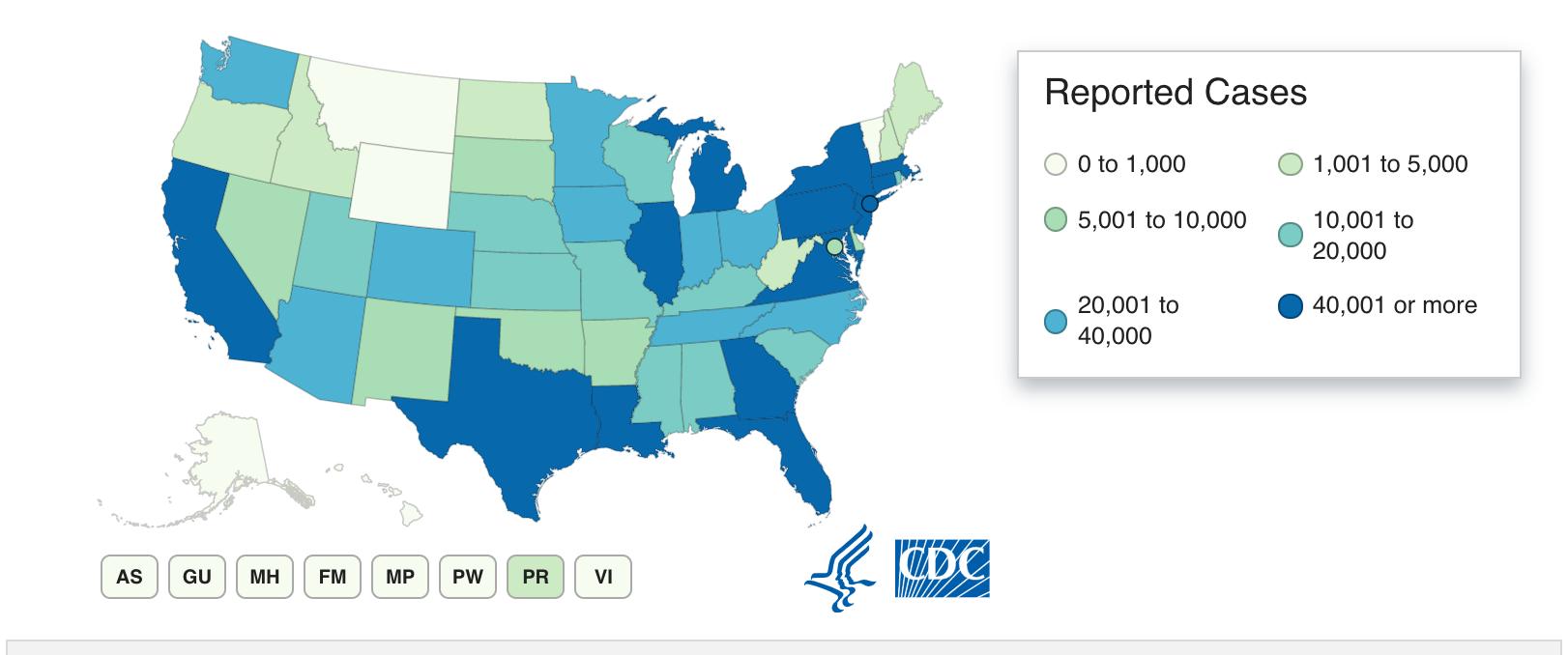 CDC states